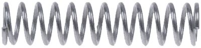 ελατήριο πίεσης ø 8.3mm Μ 35mm ø διατομής σύρματος 1mm περιελίξεις 13