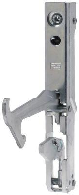 μεντεσές φούρνου απόσταση στερέωσης 142mm απόσταση στερέωσης 2  -mm στερέωση πέλματος  -mm
