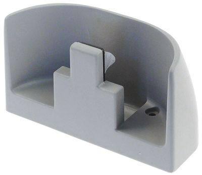 κλείστρο πόρτας W 58mm Μ 156mm H 86mm για μετατόπιση 61/77 mm τύπος 520/521