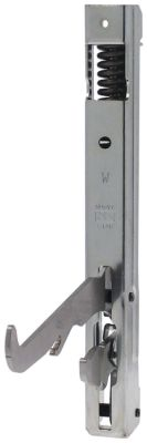 μεντεσές φούρνου απόσταση στερέωσης 208mm μήκος μοχλού 119mm απόσταση εντομής 8mm