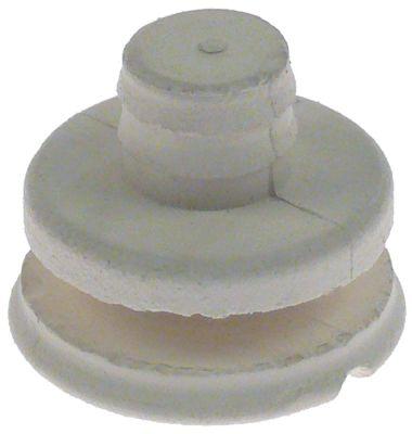ποδαράκι ø διάταξης στερέωσης 30mm συνολικό ύψος 27mm για συσκευή κόφτης Ποσ. 1 τεμ.