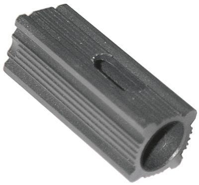 υποδοχή κατάλληλο για τετράγωνοι σωλήνες εξωτερικό μέγεθος 22,5x22,5 mm Μ 62mm πολυαμίδιο