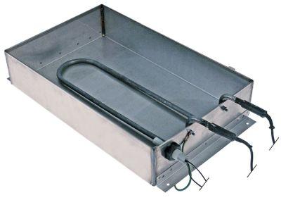 δίσκος συμπύκνωσης θερμαινόμενο Μ 380mm W 240mm H 75mm 230V 750W