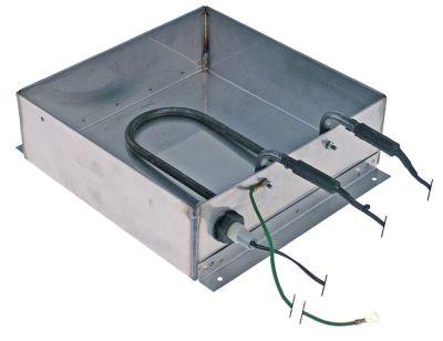 δίσκος συμπύκνωσης θερμαινόμενο Μ 240mm W 240mm H 75mm 230V 650W