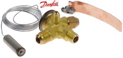 βαλβίδα εκτόνωσης DANFOSS  τύπος TES2  ψυκτικό R404a/R507  με γωνία 90°