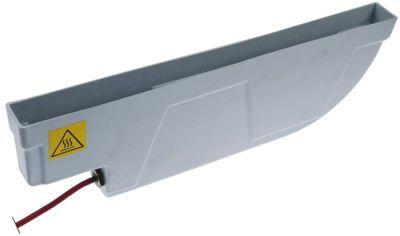 δίσκος εξάτμισης θερμαινόμενο Μ 485mm W 42mm H 154mm 110-260 V