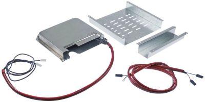 δίσκος εξάτμισης πλήρες με θερμαντικό στοιχείο και ηλεκτρόδιο στάθμης