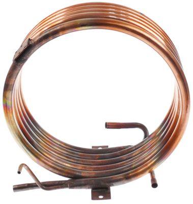 συμπυκνωτής ø σωλήνα 15mm υδρόψυκτο ø 255mm απόσταση στερέωσης 128mm