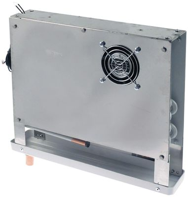 εξατμιστής Μ 350mm H 295mm πάχος 70mm θέση στερ. κέντρο 110m³/h - 1,5m/s