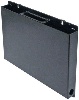 δίσκος συμπύκνωσης κατακόρυφα Μ 295mm W 35mm H 200mm με οπή για τη φύσιγγα θέρμανσης PTC (3/8