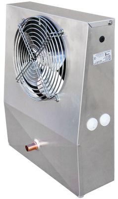 εξατμιστής 195m³/h - 2,5m/s  με 1 ανεμιστήρα 1x ø200mm  Μ 350mm W 125/80 mm H 435mm