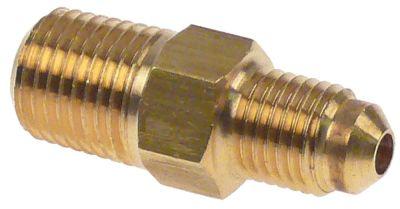 διπλό νίπελ CASTEL  7130/2  σύνδεσμος 1/4″ SAE - 1/4″ NPT  Διεθνής Κωδ. U1-4B