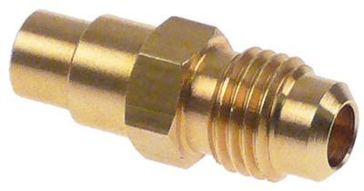 σώμα βαλβίδας για βαλβίδα Schrader CASTEL  8351/2  σπείρωμα 1/4