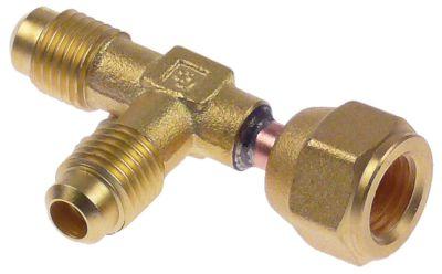 Τ σύνδεσης CASTEL  8380/X06  σπείρωμα 1/4