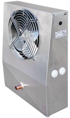 εξατμιστής 195m³/h - 2,5m/s  με 1 ανεμιστήρα έξοδος κεφαλής 300W H 435mm Μ 350mm W 125/80 mm