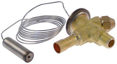 βαλβίδα εκτόνωσης DANFOSS  τύπος TS2  ψυκτικό R404a/R507  με γωνία 90° είσοδος 3/8