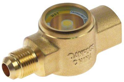 γυαλάκι DANFOSS  τύπος SGN10MF  με ενδεικτικό σύνδεσμος 5/8″-18UNF  Μ 73mm -50 έως +80°C