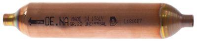 στεγνωτήριο μέγεθος 25g  ø 24mm Μ 131mm σύνδεσμος 1/4″  τύπος  -