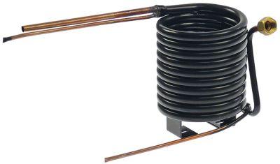 συμπυκνωτής ø σωλήνα 13.5mm ø 140mm H 160mm απόσταση στερέωσης 70mm υδρόψυκτο  - CHS1