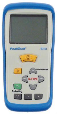 θερμόμετρο PEAK TECH  5110 περιλαμβάνεται ανιχνευτής με καλώδιο