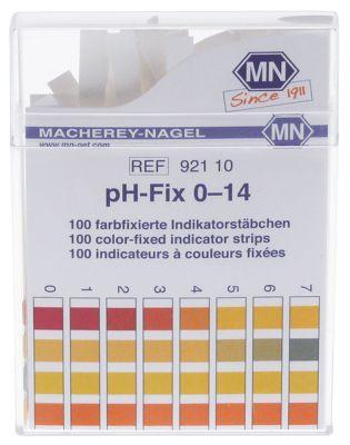 ταινία ελέγχου pH 0-14pH  Ποσ. 100 τεμ.
