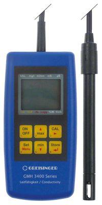μετρητής αγωγιμότητας τύπος GMH 3431  εύρος μέτρησης 0µS/cm-200mS/cm  0-85 °C