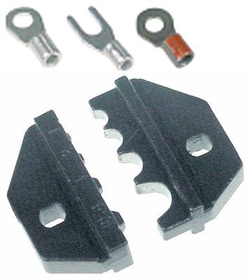 κεφαλή πένσας κλιπ μη μονωμένοι ακροδέκτες εύρος ρίκνωσης 1-10mm²