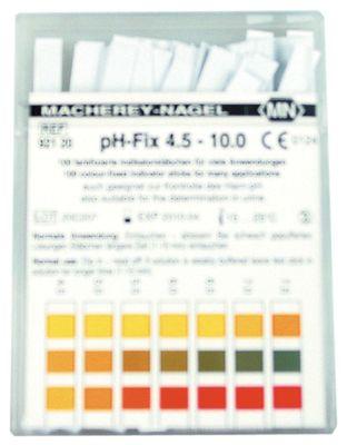 ταινία ελέγχου pH 4,5-10  Ποσ. 100 τεμ.