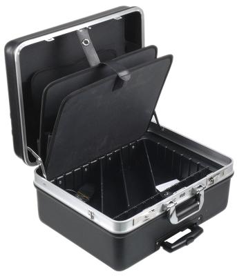 θήκη εργαλείων  - μέγεθος 495x390x260mm  πλαστικό ασημί με τροχούς και αφαιρούμενη λαβή