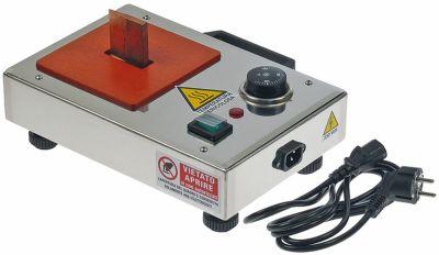 Μηχανές συγκόλλησης 230V για τοποθέτηση φλάντζας Μέγ. Θ 300°C