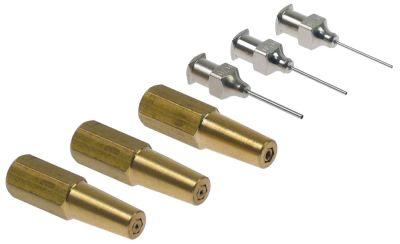 Σετ ακροφυσίων συγκόλλησης ROTHENBERGER  μέγεθος 1,2/1,5/2mm Ποσ. 3