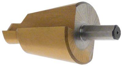 τρυπάνι κωνικό HSS Co5-TiN  εύρος διάτρησης 24-40 mm Μ 89mm ø άξονα 10mm