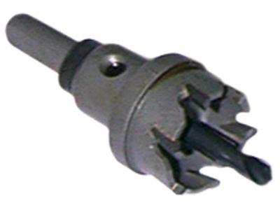 ποτηροτρύπανο ø 22mm σκληρό μέταλλο πάχος έως 4,0mm ΒΚ έως 10mm μέγ. ανά σωλήνα 42767'