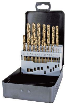 σετ τρυπάνια ελικοειδή HSS Co 5  19 τεμαχίων ø 1-10mm Μ 34-133 mm