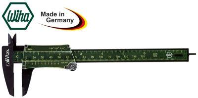 παχύμετρο  οθόνη ενδείξεων γραμμική κλίμακα εύρος μέτρησης 0-130 mm DIN 862  ίνα γυαλιού
