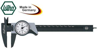 παχύμετρο  οθόνη ενδείξεων με κυκλικό επιλογέα εύρος μέτρησης 0-150 mm DIN 862  ίνα γυαλιού