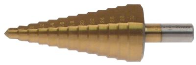 τρυπάνι HSS Co5-TiN  εύρος διάτρησης 6-30mm
