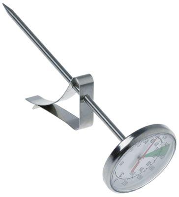 θερμόμετρο -10 έως 100°C οθόνη ενδείξεων ανάλογο ø 44.5mm Μ αισθητηρίου 130mm ø αισθητηρίου 3.8mm