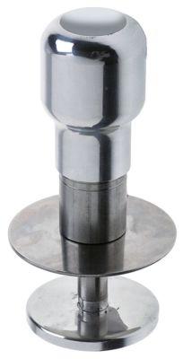 πατητήρι καφέ αλουμίνιο ø 53mm