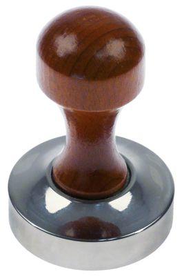 πατητήρι καφέ ανοξείδωτος χάλυβας ø 57,5mm