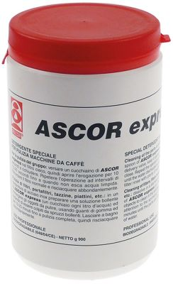 καθαριστικά μηχανών καφέ ASCOR Express  έγκριση  - 900g  δοχείο