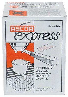 καθαριστικά μηχανών καφέ ASCOR Express  έγκριση  - 300g  15 σακουλάκια των 20g