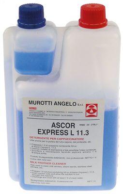 καθαριστικά συστήματος παραγωγής αφρόγαλου φιάλη ASCOR Express L11.3  έγκριση  - 1000ml