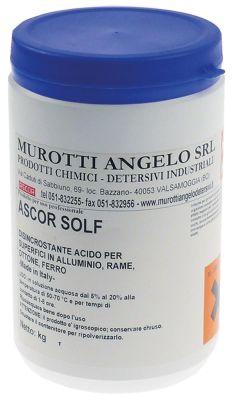 αφαλατικό ASCOR SOLF  περιεχόμενο 1kg για πλυντήρια πιάτων και ρούχων