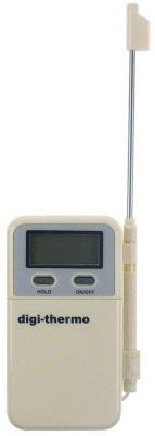 θερμόμετρο με ανιχνευτή βύθισης μονάδα μέτρησης °C/°F  -50 έως +300°C