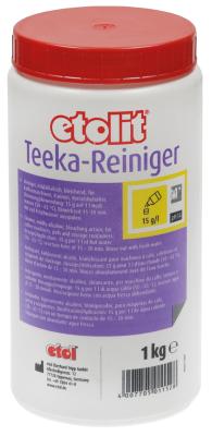 καθαριστικό etolit TEEKA  έγκριση  - τσάι/καφές 1000g  δοχείο δοχείο