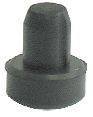 ποδαράκι ø 20mm H 9mm ø διάταξης στερέωσης 12mm συνολικό ύψος 23mm ελαστικό Ποσ. 1 τεμ.