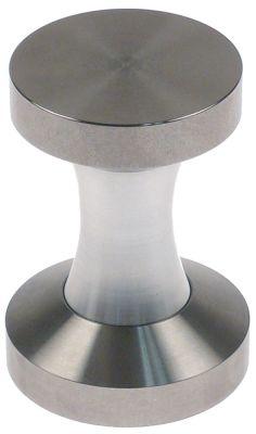 πατητήρι καφέ επίπεδη επιφάνεια πίεσης ανοξείδωτος χάλυβας ø 53/58 mm