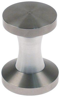 πατητήρι καφέ κυρτή επιφάνεια πίεσης ανοξείδωτος χάλυβας ø 53/58 mm