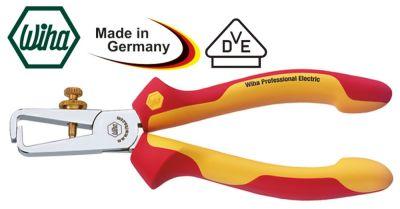 απογυμνωτής καλωδίου έως 10mm² Μ 160mm DIN ISO 5744  με πιστοποίηση VDE και GS